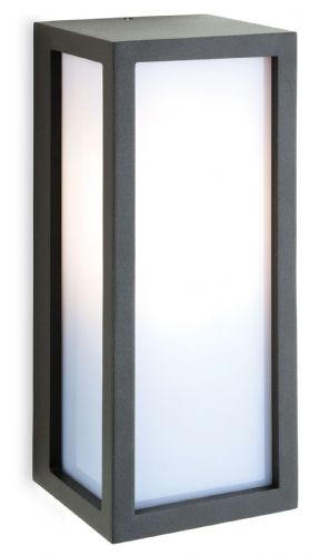 Firstlight 2331GP Graphite with Opal Diffuser Warwick Wall Light